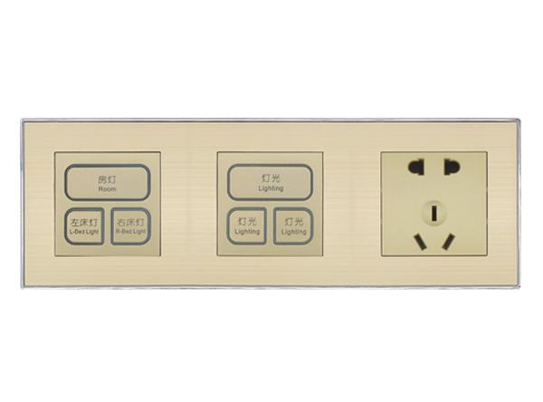 智能开关3控+3控+插座
