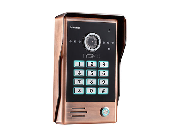 彩色密码刷卡门口机(T-10CG)
